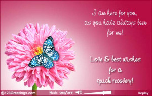 Recovery Greeting Card Messages