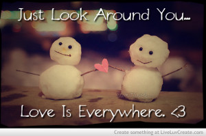 Cute Snow Quotes Life, snow, christmas, love,