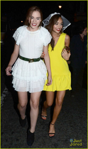 Ashley Madekwe puts on a fun veil en route to her hen party in London ...