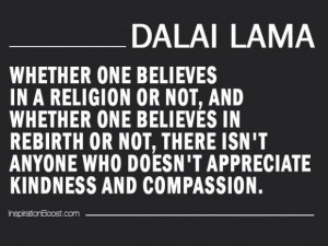 Appreciation quote by Dalai Lama