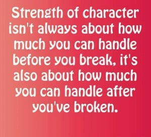 Where is your character strength