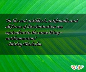Quotes About Discrimination
