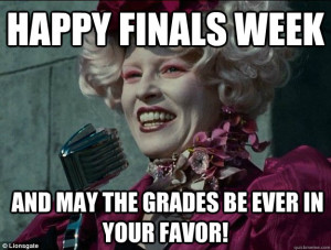 And now for a few of our favorite finals week memes to get us ready!