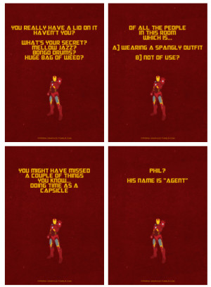 Quotes From Iron Man Avengers