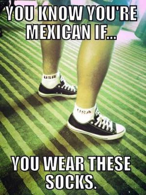 ... mexican if you wear these socks save to folder meme socks jokes jokes