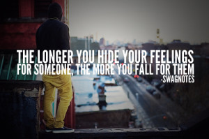 hide feelings for someone swag quote about boys
