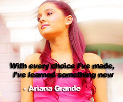 Ariana Grande Quotes From Songs