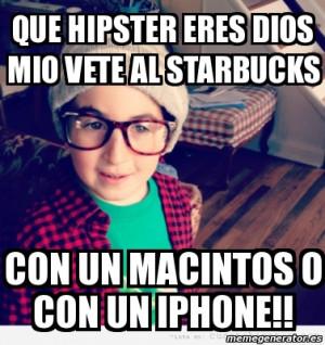 Starbucks Hipster Meme
