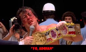 """35 """"Yo, Adrian!"""" Rocky Balboa – Rocky (1976)"""
