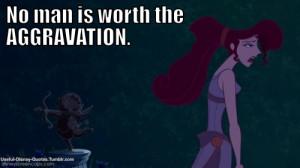 ... Disney Quotes #Hercules #I won't say I'm in love #Megara #Disney