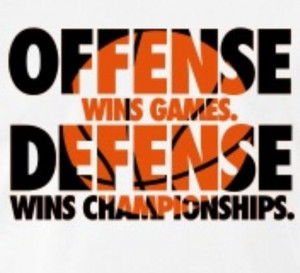 Offense Wins Games Defense Wins Championships Movie Quote