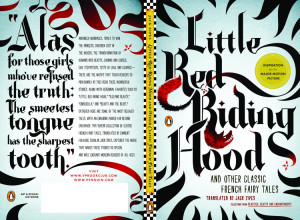 "Typography: Jen Wang's ""Little Red Riding Hood"""
