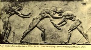 Greek Wrestling Art Wrestling greeks