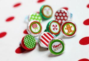 Christmas Hershey's Kisses FREEBIES