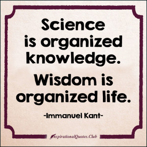 .Club - science, organized, knowledge, wisdom, life, inspirational ...