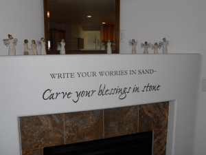 ve always wanted to put this verse above my front door.