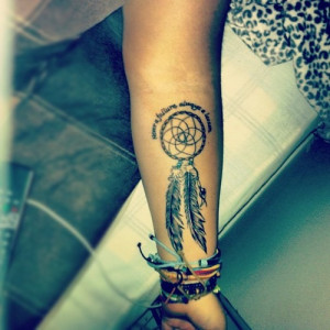 ... the dream is in the LAPUTA. Enjoy Dreamcatcher Tattoo Designs Much
