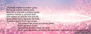 Princess Love Quote Cover Comments