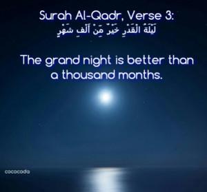 Cococoda reaching out for lailatul qadr islamic quotes, hadiths, duas ...