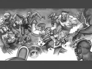 marvel zombis vs the goon Image