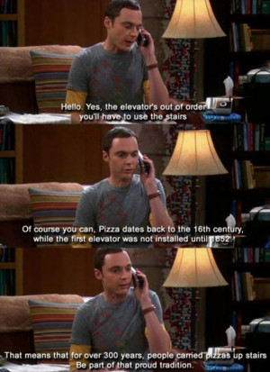 funny quotes on big bang theory