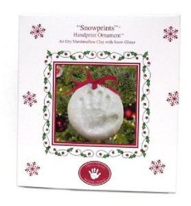 ... -Cherish-Snowprints-w-Glitter-Handprint-Christmas-Ornament-Kit-159662