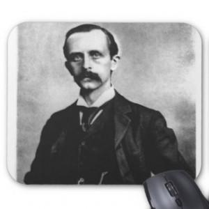 Sir James Matthew Barrie Mouse Pads