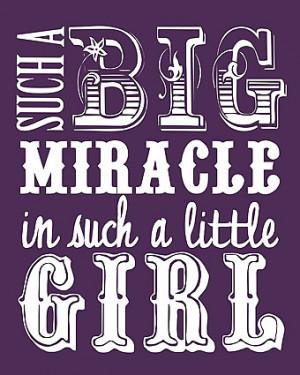 Big Miracle {Free Printable!}