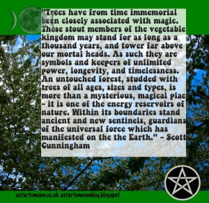 ... immemorial been closely associated with magic. Scott Cunningham quote