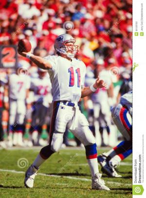Former New England Patriots QB Drew Bledsoe. (Image taken from slide).