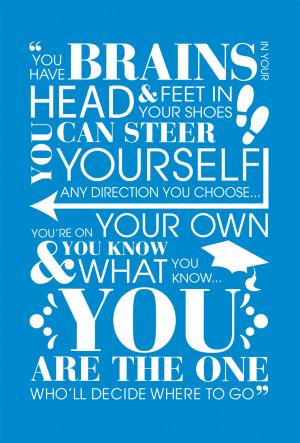 Graduation Quotes Dr Seuss Quote from dr. seuss,