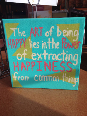 DIY Canvas Art Quotes