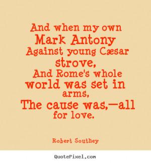 Robert southey...