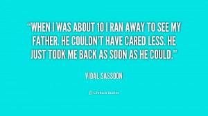 Vidal Sassoon Quotes