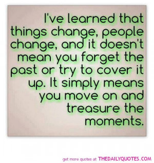 ve Learned……..