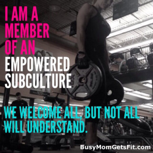 strong women lift weights girls with muscle strength quote subculture ...