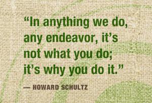 Howard Schultz quotation