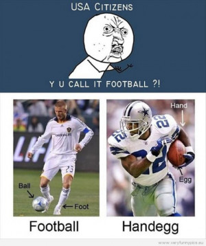 Funny Pictures | quotes clever | Ever heard of the sport Handegg?