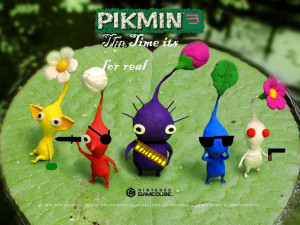 Pikmin Characters Plot And