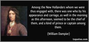 More William Dampier Quotes
