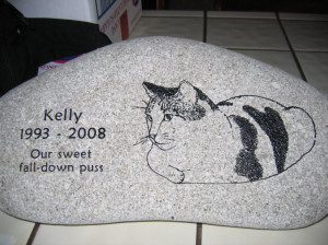 Pet Memorials - Engraved River Stones