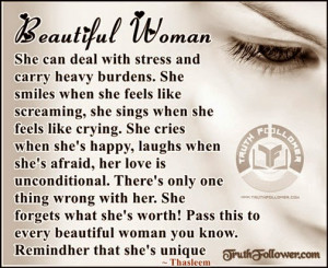 woman has great strengths, Beautiful Women Quotes