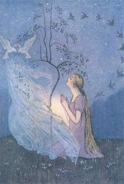 タイトル:Cinderella「シンデレラ」1920 水彩