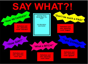 Say What? Bulletin Board