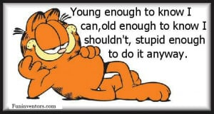 GARFIELD LAZY QUOTE