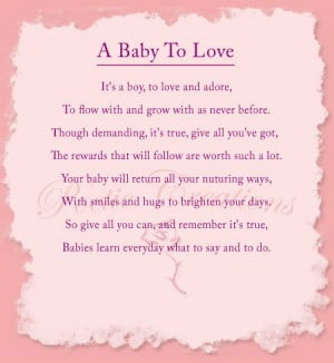 boy poems and quotes wall quote poem saying baby 39 s poem
