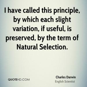 Charles Darwin Quotes