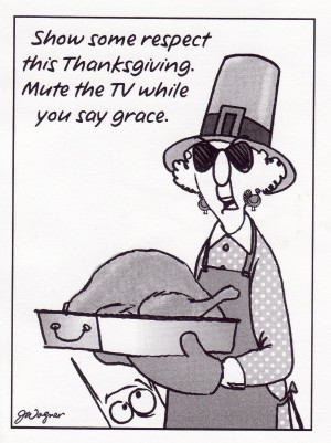 Countdown to Thanksgiving with Maxine...