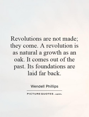 Revolution Quotes Wendell Phillips Quotes