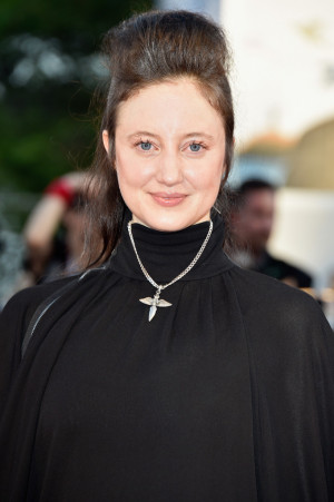 Actress Andrea Riseborough attends the Opening Ceremony and 'Birdman ...